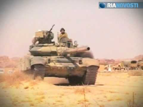 Russian T-90 Tank Versus German Leopard 2A6 Tank