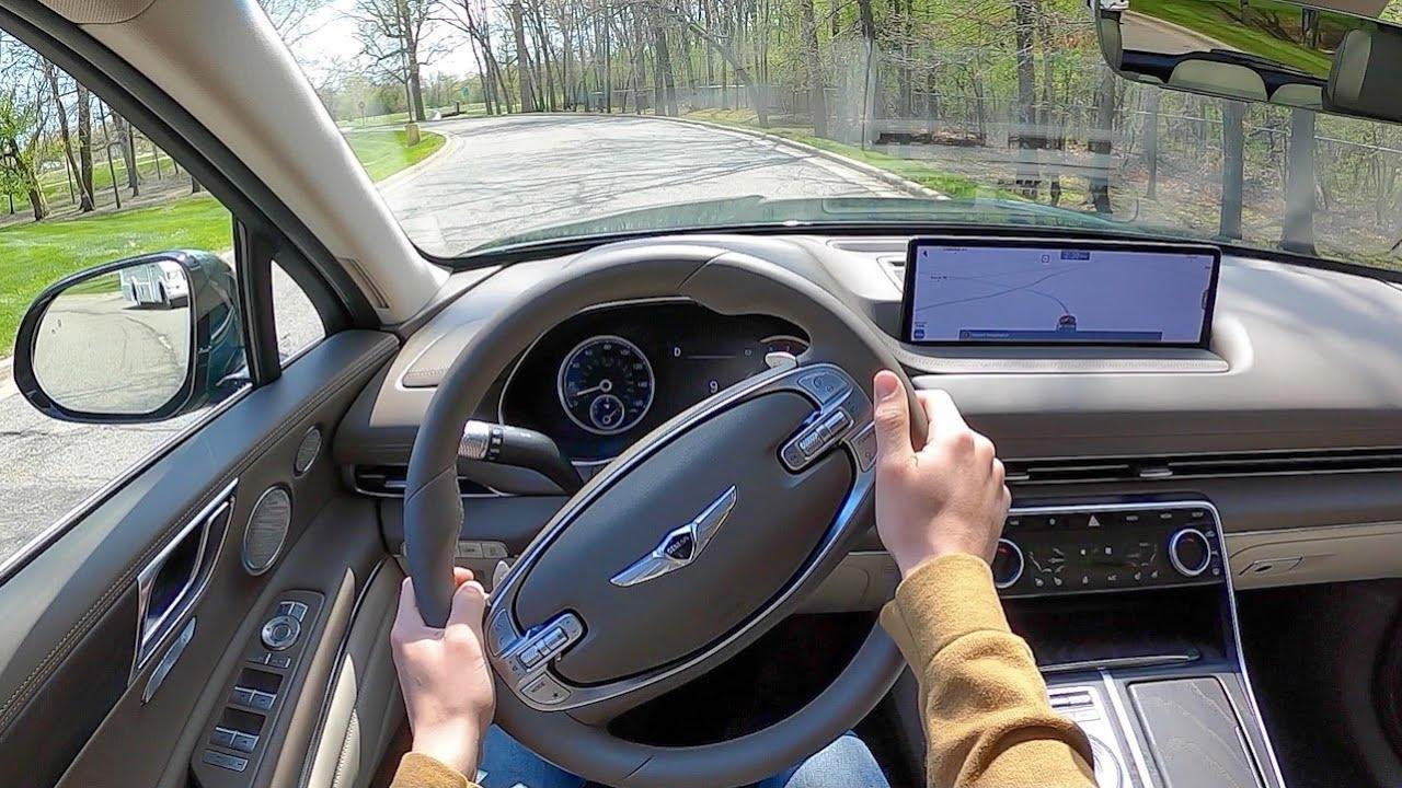 2021 Genesis GV80 2.5T Prestige RWD - POV Test Drive (Binaural Audio)