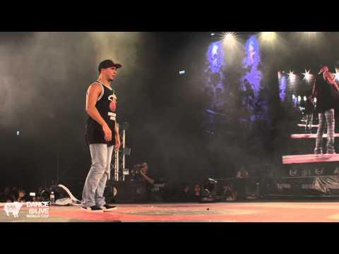 SALAH FR vs UKAY GR Top 16 Freestyle DANCELIVE World Cup 2014