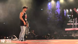 SALAH (FR) vs UKAY (GR) Top 16 Freestyle DANCE@LIVE World Cup 2014