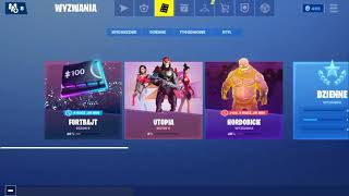 Buy account Fortnite 52 Skins and a lot of things for 50zl PayPal or PSC 30-50 or exchange for other