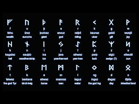 How To Read Runes | The Elder Futhark  Part 1