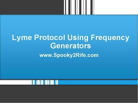Lyme Protocol Using Frequency Generators