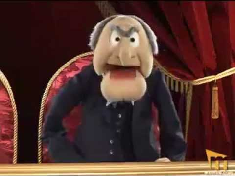 Statler waldorf from the balcony episode 7 youtube for Balcony muppets