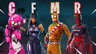 BEST SKIN A-Z! (Fortnite Battle Royale!)