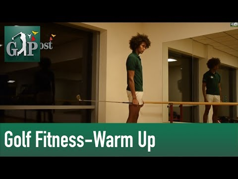 Golf Fitness – Aufwärmprogramm I, Warm Up für Golfer by Golf Post