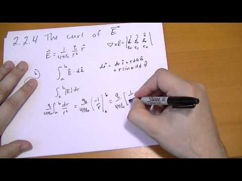 2.2.4 The Curl of E
