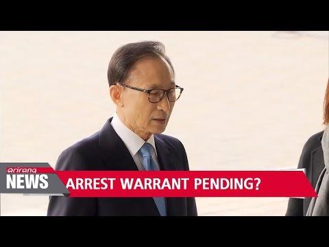 Prosecutors set to determine whether to request arrest warrant for former president Lee Myung-bak