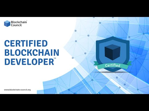Introduction To Certified Blockchain Developer™ | Blockchain Council