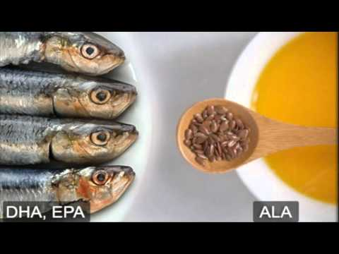Health Bytes - Fish Oils And Flaxseed For Omega 3