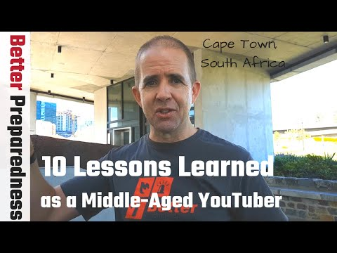 10 Lessons Learned of a Middle-Aged YouTuber || A Canadian in Cape Town, South Africa