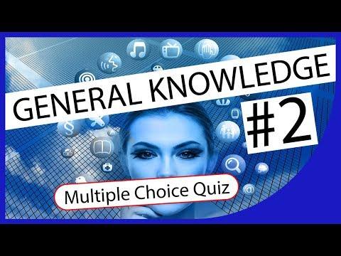 Q★ | General Knowledge #2 | MULTIPLE CHOICE TEST | Q-Star Quiz Channel
