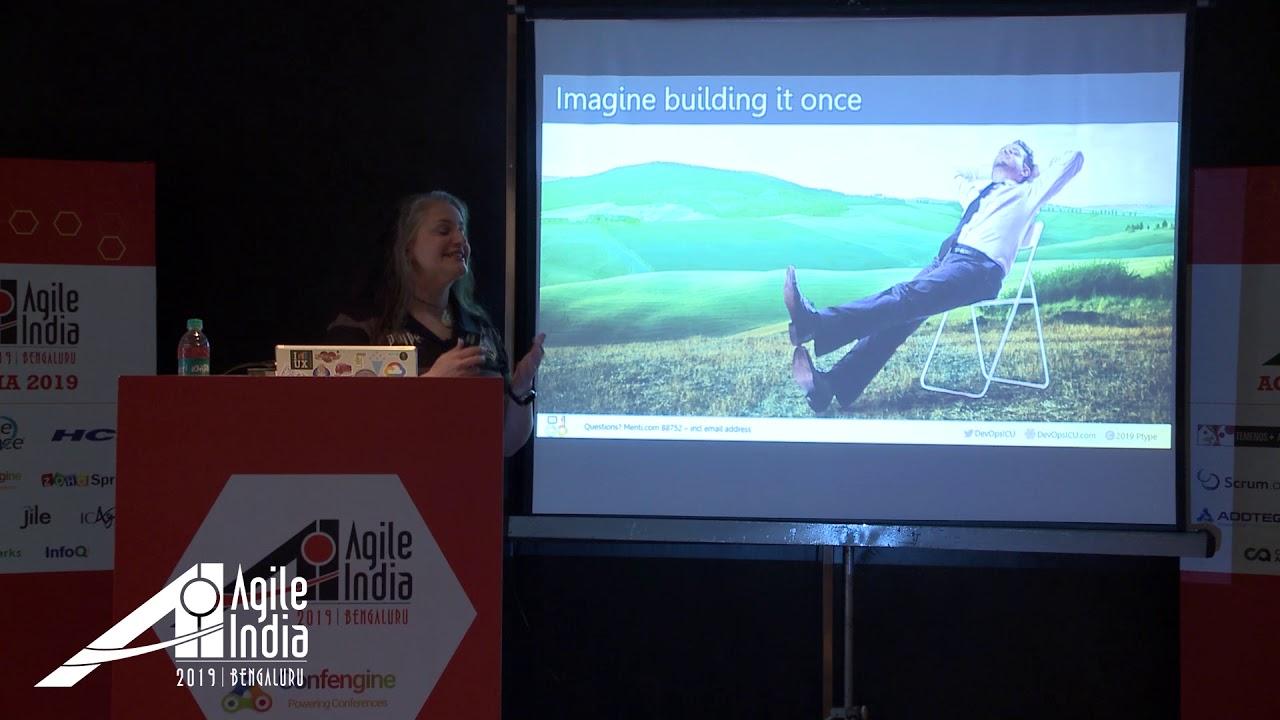 DevOps ICU: (Correctly) Integrating UX, Product Design, and Agile by Debbie  Levitt #AgileIndia2019