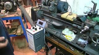 Myford ML7 motor vfd and tachy