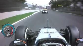 F1  Top speed record 370 kmh, Motor V6