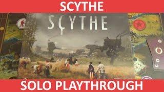 Scythe - Automa (Solo) Playthrough - Part 1