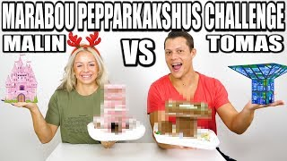 MARABOU PEPPARKAKSHUS CHALLENGE *TOMAS VS MALIN*