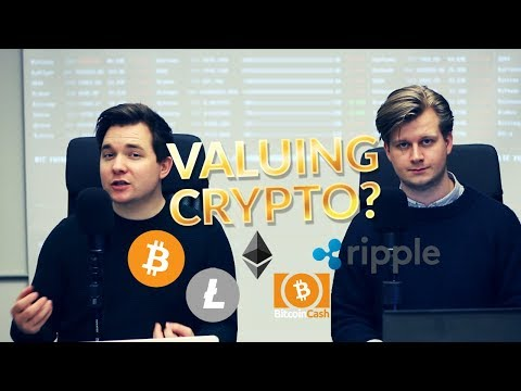 Valuing cryptocurrencies - Price-to-Network Value (BTC, ETH, LTC, XRP, BCH)