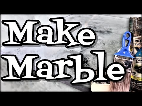 Make White Epoxy Marble Easy