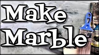 Make White Epoxy Marble Easy