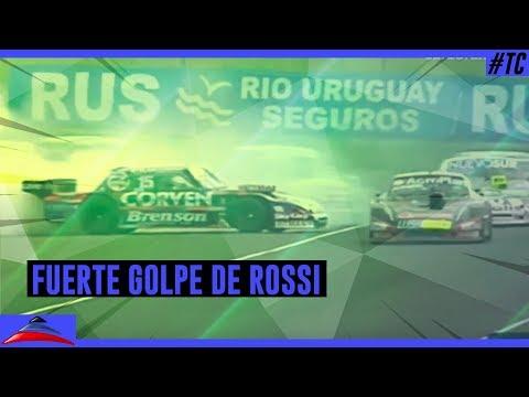 El fuerte golpe que sufrió Matías Rossi...