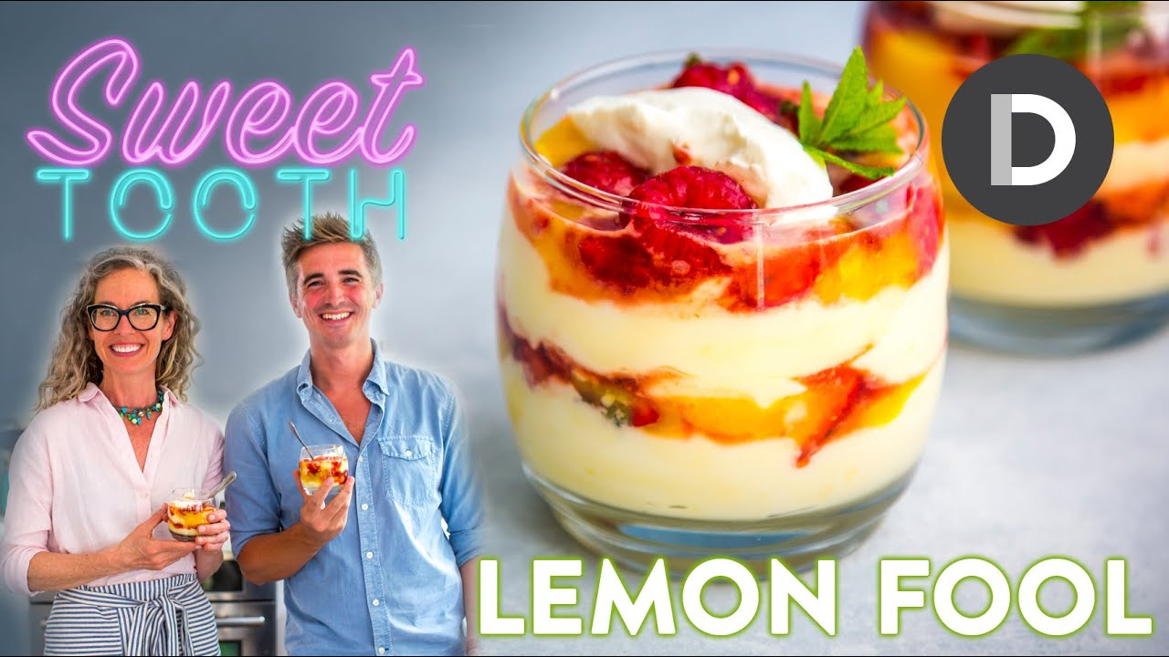 BEST SUMMER LEMON DESSERT with ZoeBakes! 🍋