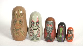 Marvel Guardians of the Galaxy Nesting Dolls from PPW Toys