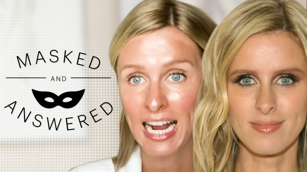 Nicky Hilton Reviews a Paris Hilton Face Mask   Masked And Answered   Marie Claire