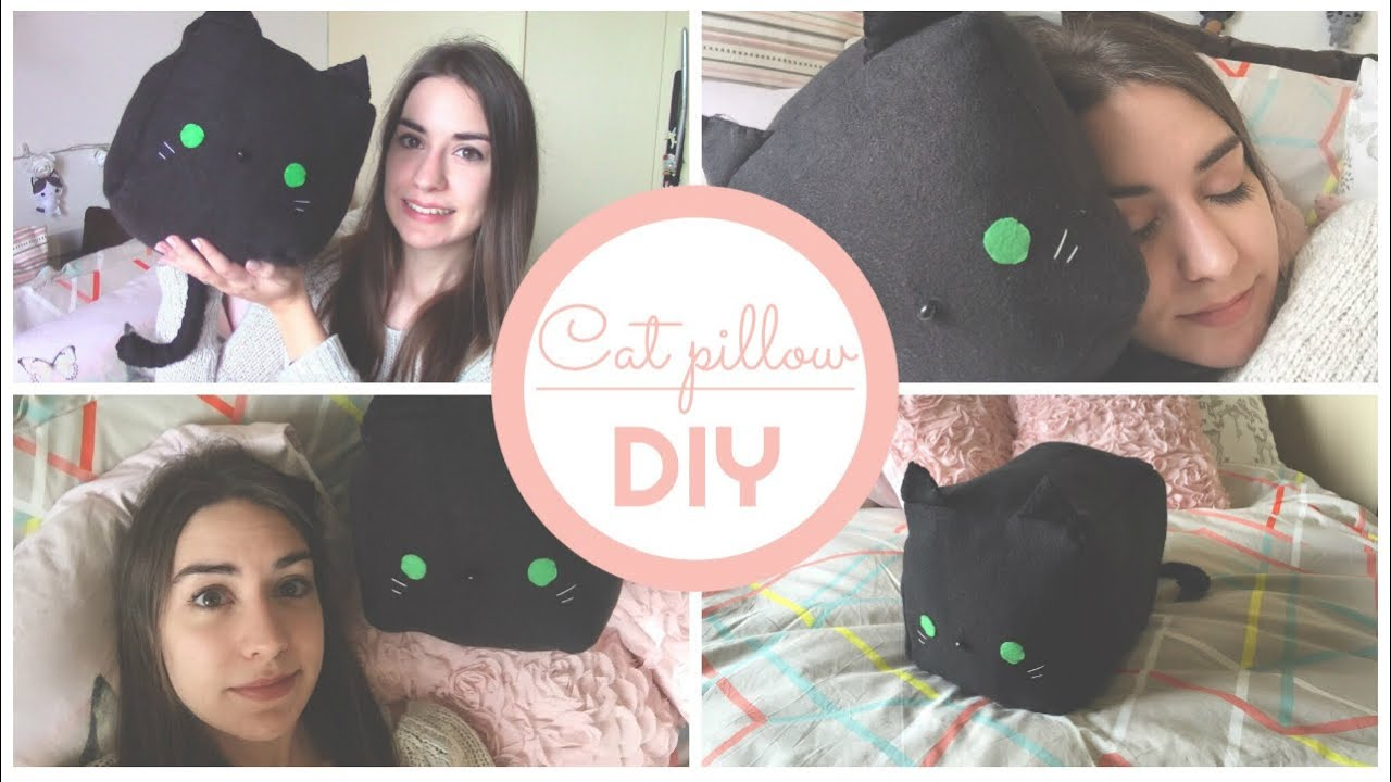 Cat Pillow Diy Cuscino Chibiistheway Youtube