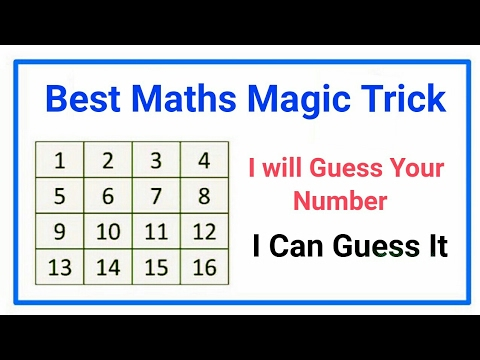 I will Guess Your Number, [best Math Tricks 2017] - YouTube