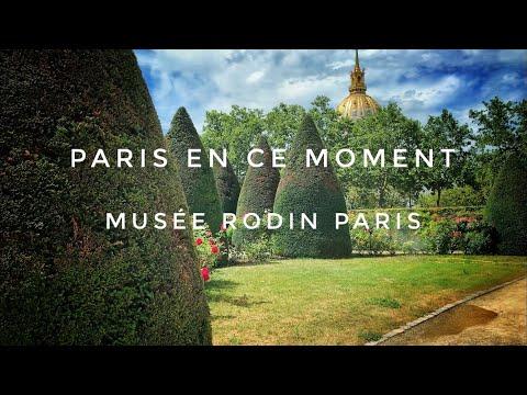 MUSÉE RODIN PARIS(JARDIN )23/07/2020 PARIS 4K