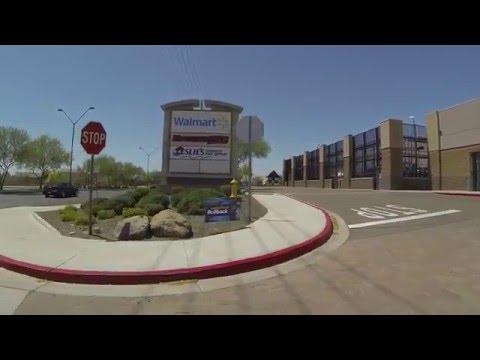 Walmart Supercenter, Watson Road, Buckeye toward Avondale, Arizona, 23 April 2016, GOPR0897