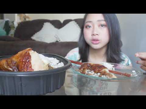 Mukbang- Rotisserie chicken
