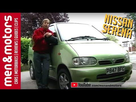 видео nissan serena, 1997 год