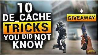 10 TRICKS on DE_CACHE You Probably Didn't Know [+GiVEAWAY]