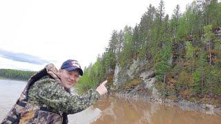 Путешествие на лодке по красивой горной реке | Природа Урала