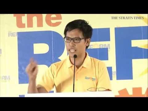 Reform Party rally @ Yio Chu Kang Stadium