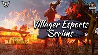 Villager Esports Scrims • Top Tier Teams Ft - ORE, GodL, Team X, Entity etc