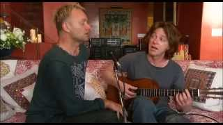 �������� ���� Sting - Shape Of My Heart (акустическая версия в домашней обстановке) ������
