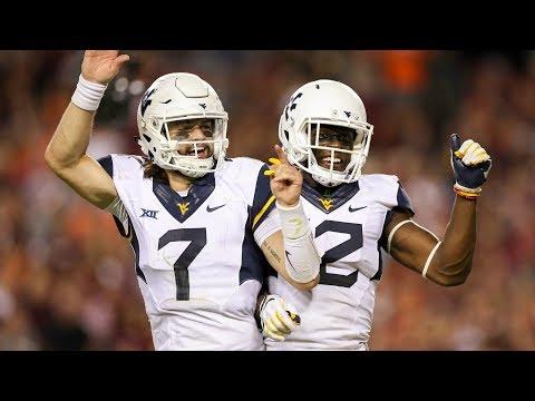 West Virginia QB Will Grier Highlights vs. Virginia Tech (2017)