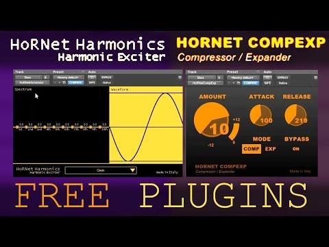 Hornet FREE Plugins explained | CompExp & Harmonics