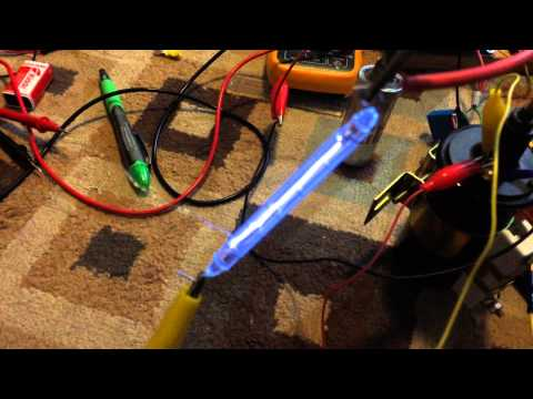 Ignition coil test 100W Xenon Flash Tube