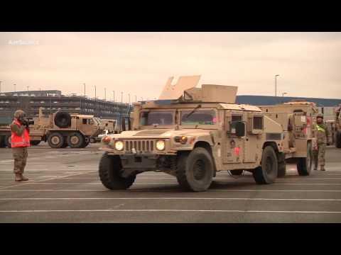 US Sends 3,600 Tanks Against Russia – Massive NATO Deployment Underway