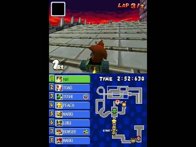 Nintendo DS Longplay [073] Mario Kart DS (part 1 of 3)