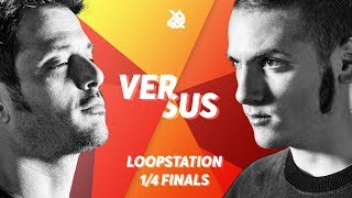 TIONEB vs NME  |  Grand Beatbox LOOPSTATION Battle 2018  |  1/4 Final