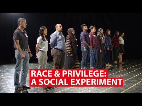Race & Privilege: A Social Experiment | Regardless Of Race | CNA Insider