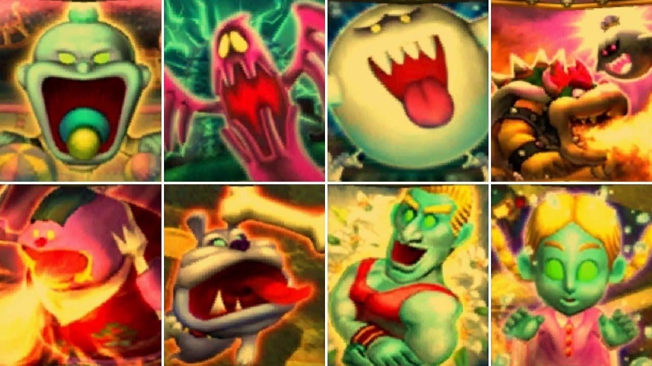 Luigi's Mansion 3DS - All Ghost Portraits (Platinum, Gold, Silver, Bronze)