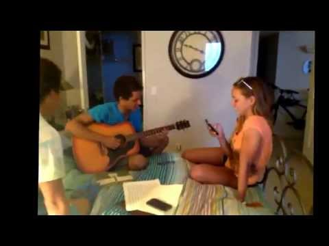 The perfect white girl song: A thousand miles; sung by my friends. Enjoy