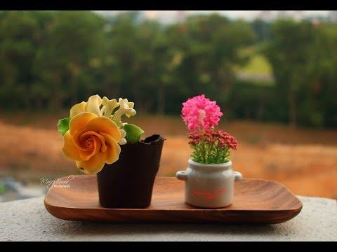 Chocolate Flower Pot | How to make Chocolate Flower Pot | DIY Chocolate Flower Pot