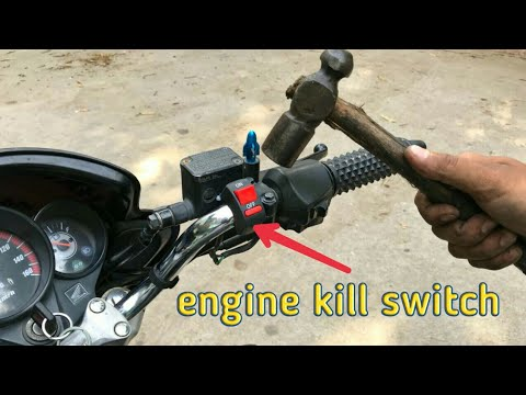 how to install engine kill switch in honda unicorn how to install